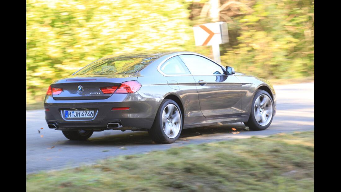 BMW 650i, Heck