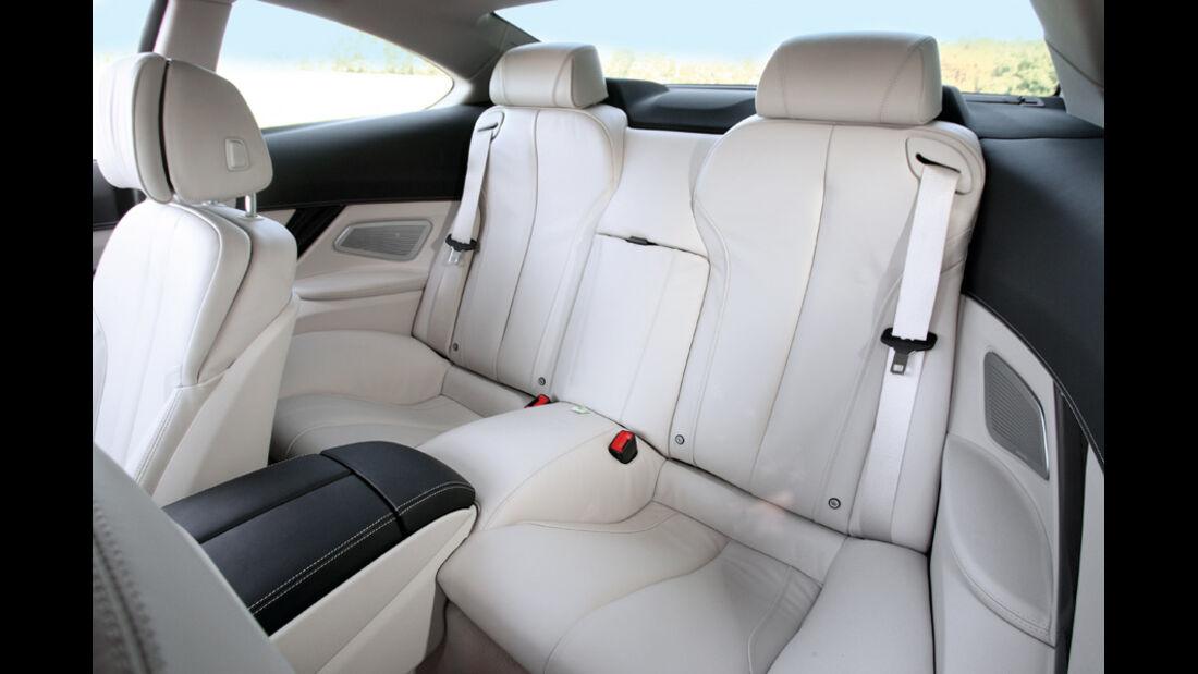 BMW 650i, Innenraum
