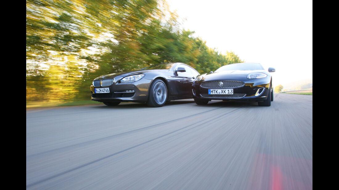 BMW 650i, Jaguar XK 5.0 V8 Portfolio, Motorhauben