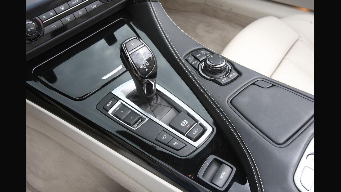 BMW 650i, Schalthebel, Schaltknauf