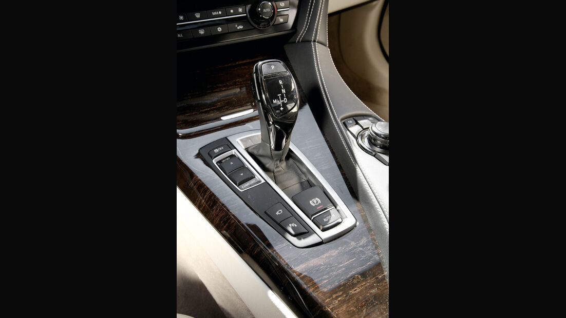 BMW 650i, Schaltknauf, Schalthebel