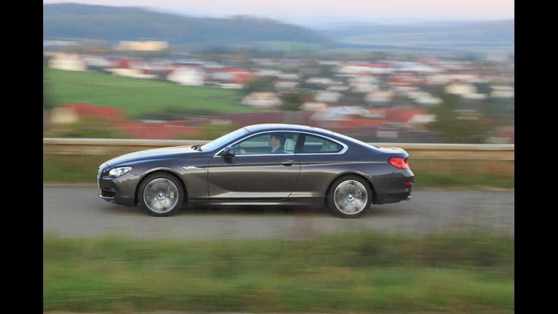 BMW 650i, Seitenansicht