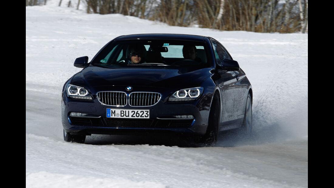 BMW 650i xDrive, Frontansicht