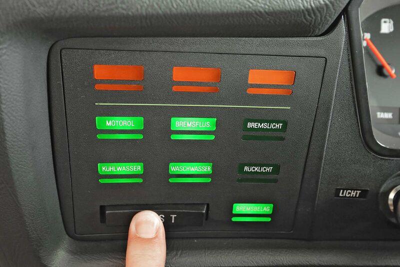 BMW 6er CSi E24 Kaufberatung Check Control