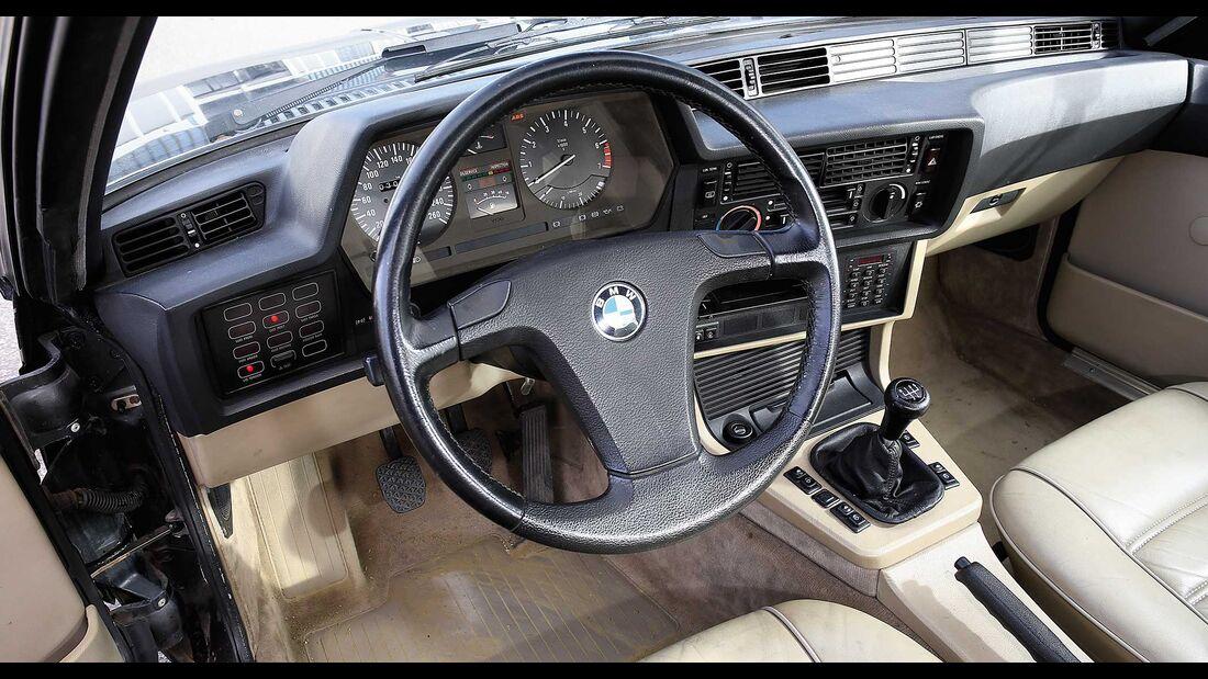 BMW 6er CSi E24 Kaufberatung Cockpit