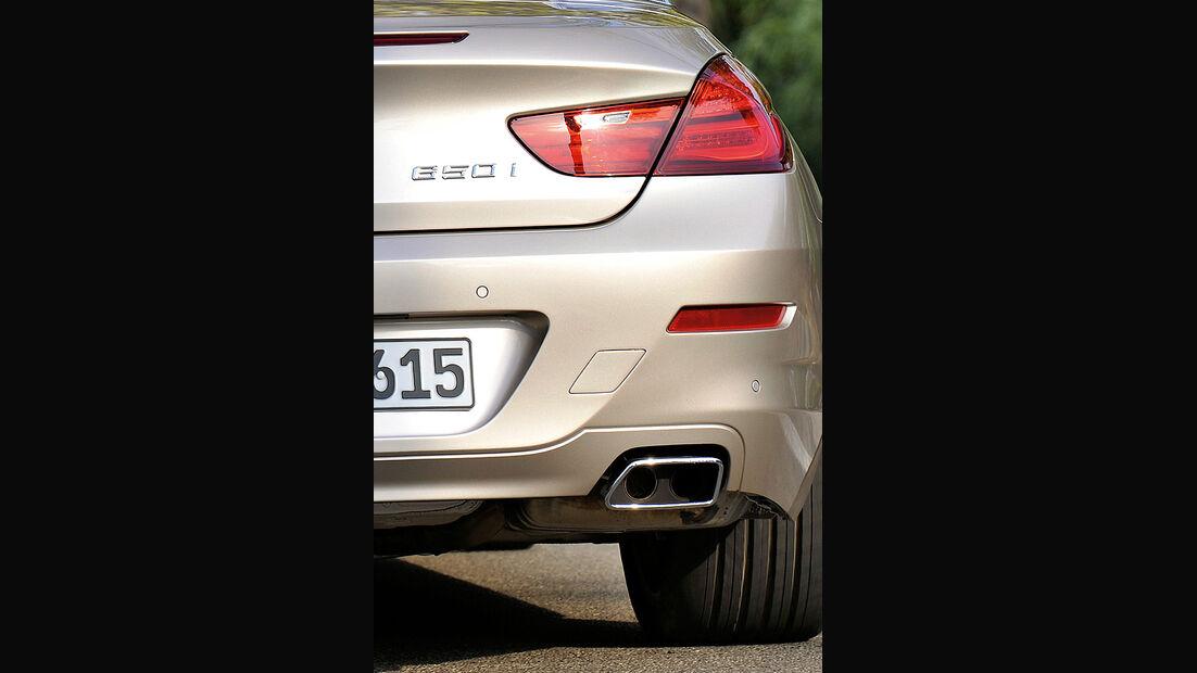 BMW 6er Cabrio, 2011, Auspuff