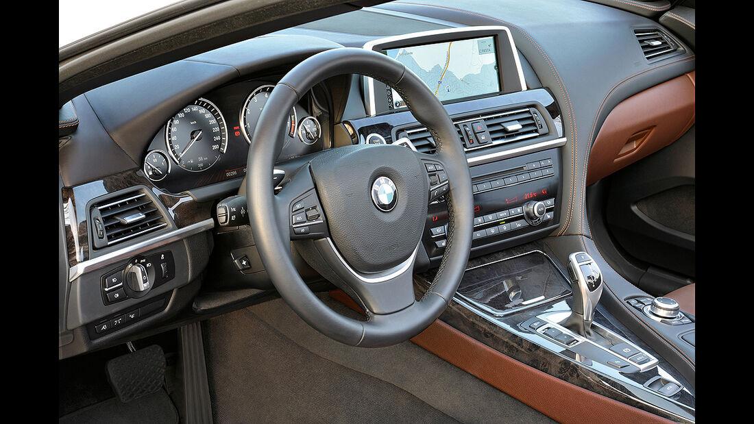 BMW 6er Cabrio, 2011, Cockpit
