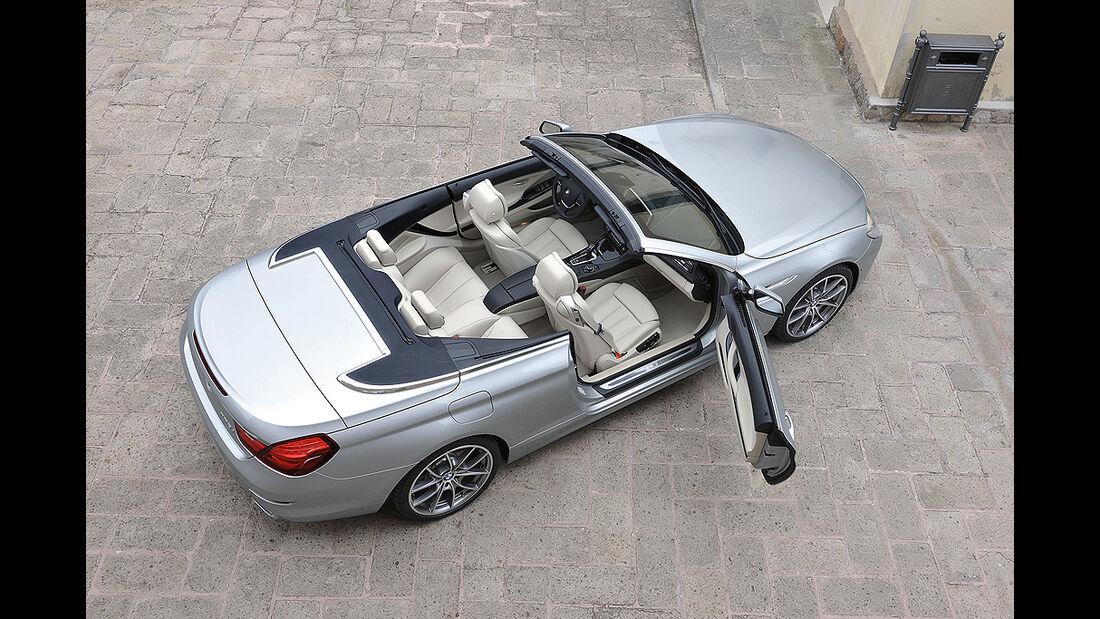 BMW 6er Cabrio, 2011, Innenraum