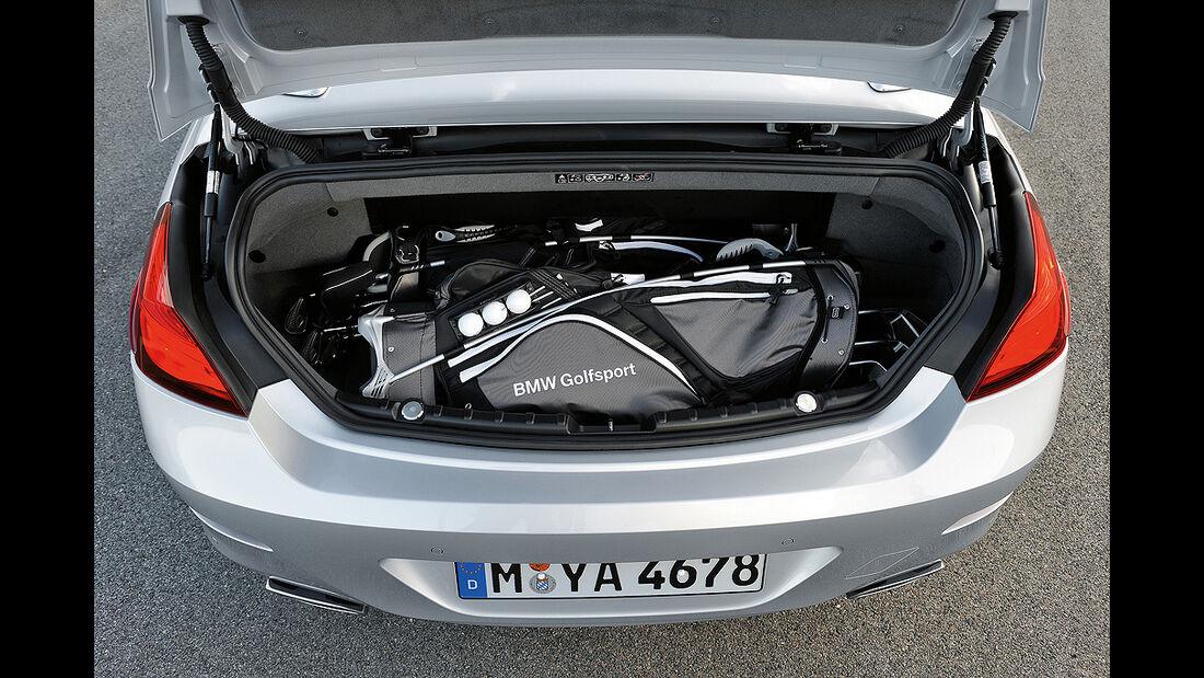 BMW 6er Cabrio, 2011, Kofferraum