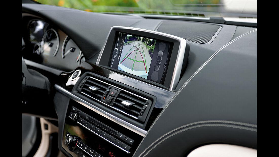 BMW 6er Cabrio, 2011, Navigationssystem, Bildschirm
