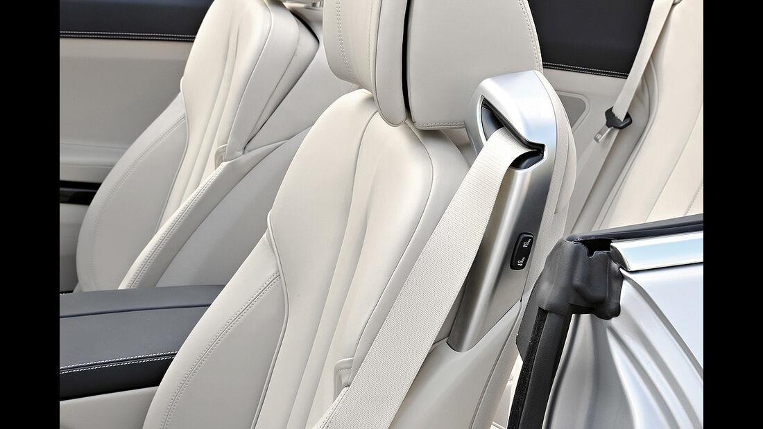 BMW 6er Cabrio, 2011, Sitze