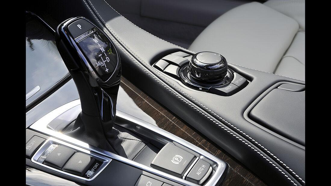 BMW 6er Cabrio, 2011, i-Drive, Wählhebel, Schalthebel
