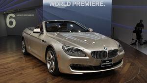 BMW 6er Cabrio, Detroit Motor Show, Rundgang