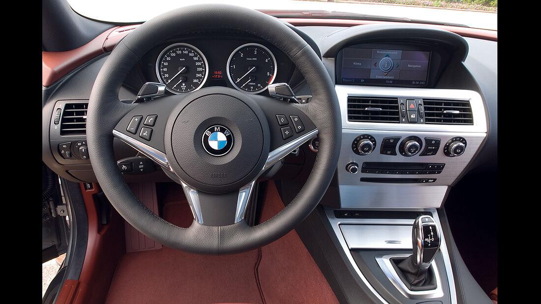 BMW 6er, Coupé, 2007, Innenraum