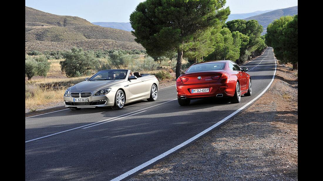 BMW 6er Coupé, BMW 6er Cabrio