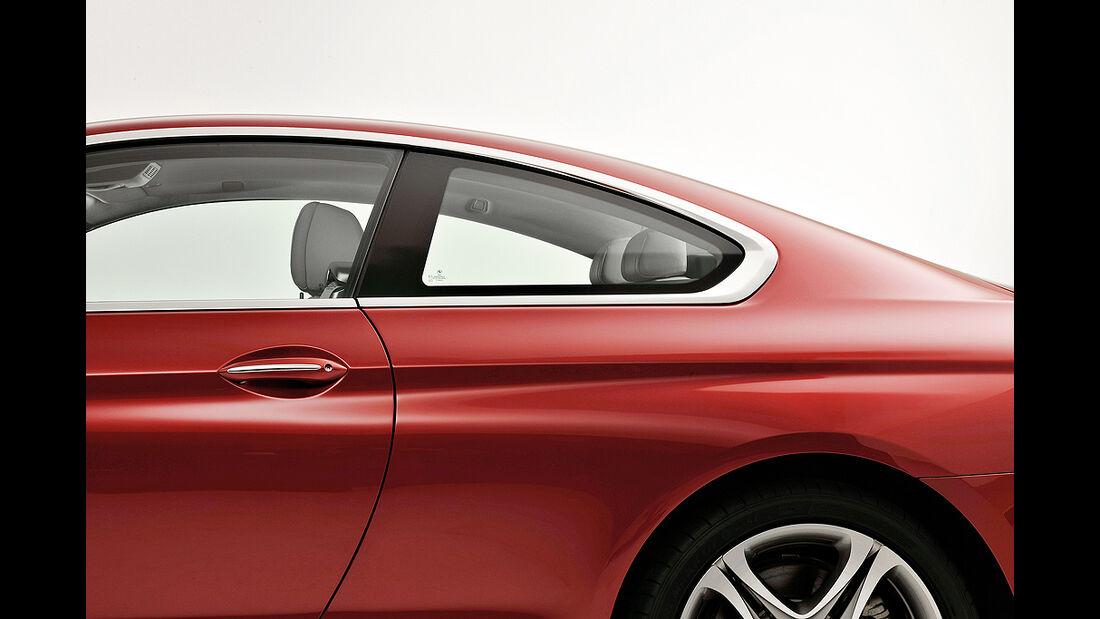BMW 6er Coupé, Dachlinie, B-Säule