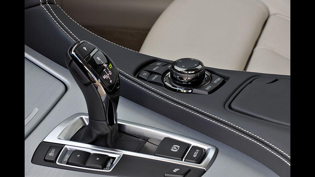 BMW 6er Coupé, Schalthebel