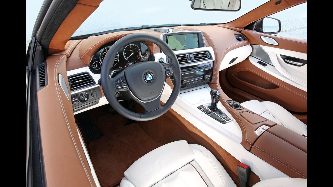 BMW 6er Gran Coupé, Cockpit, Interieur