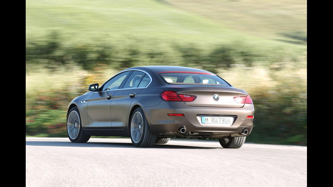 BMW 6er Gran Coupé, Heck