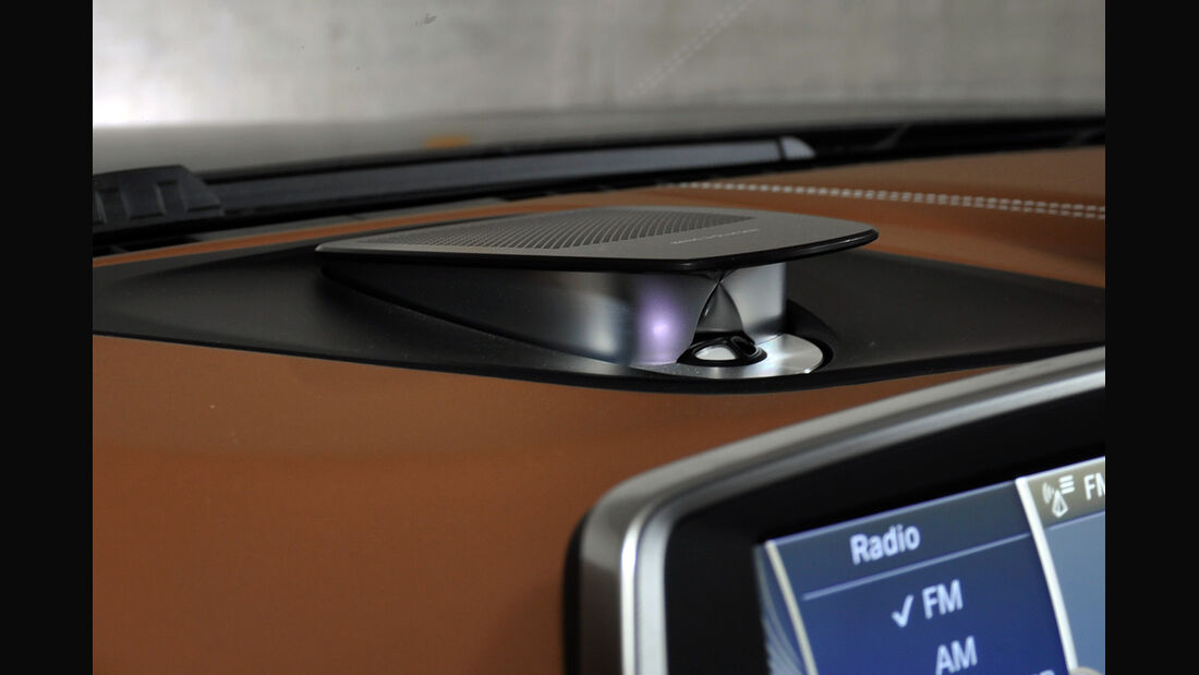 BMW 6er Gran Coupé, Innenraum-Check, Audioanlage, Hochtöner