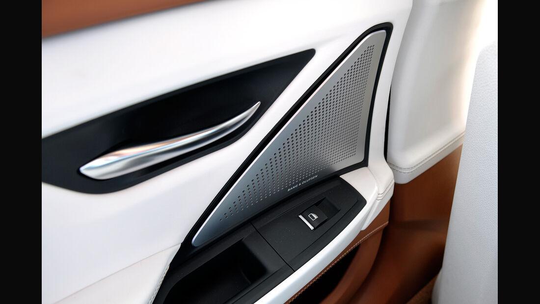 BMW 6er Gran Coupé, Innenraum-Check, Audioanlage