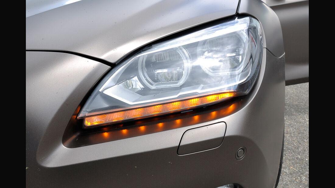 BMW 6er Gran Coupé, Innenraum-Check, Blinker