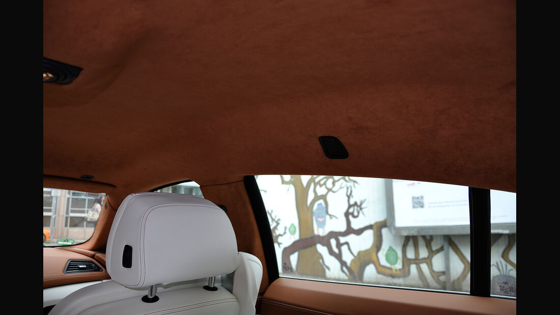BMW 6er Gran Coupé, Innenraum-Check, Dachhimmel