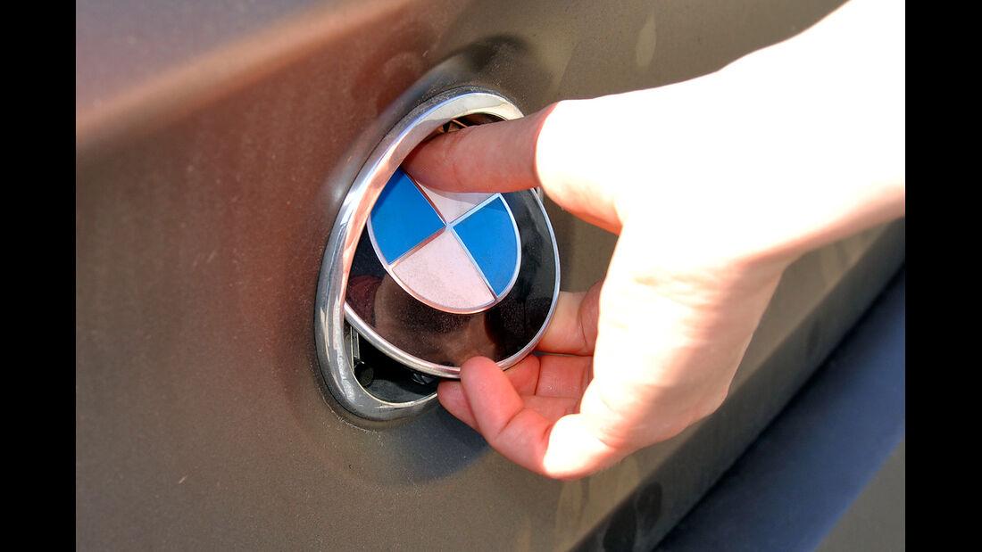 BMW 6er Gran Coupé, Innenraum-Check, Kofferraumöffner