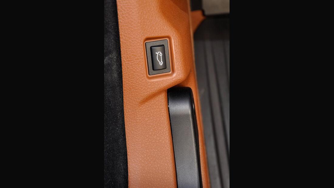 BMW 6er Gran Coupé, Innenraum-Check, Kofferraumöffner, Motrohaubenöffner