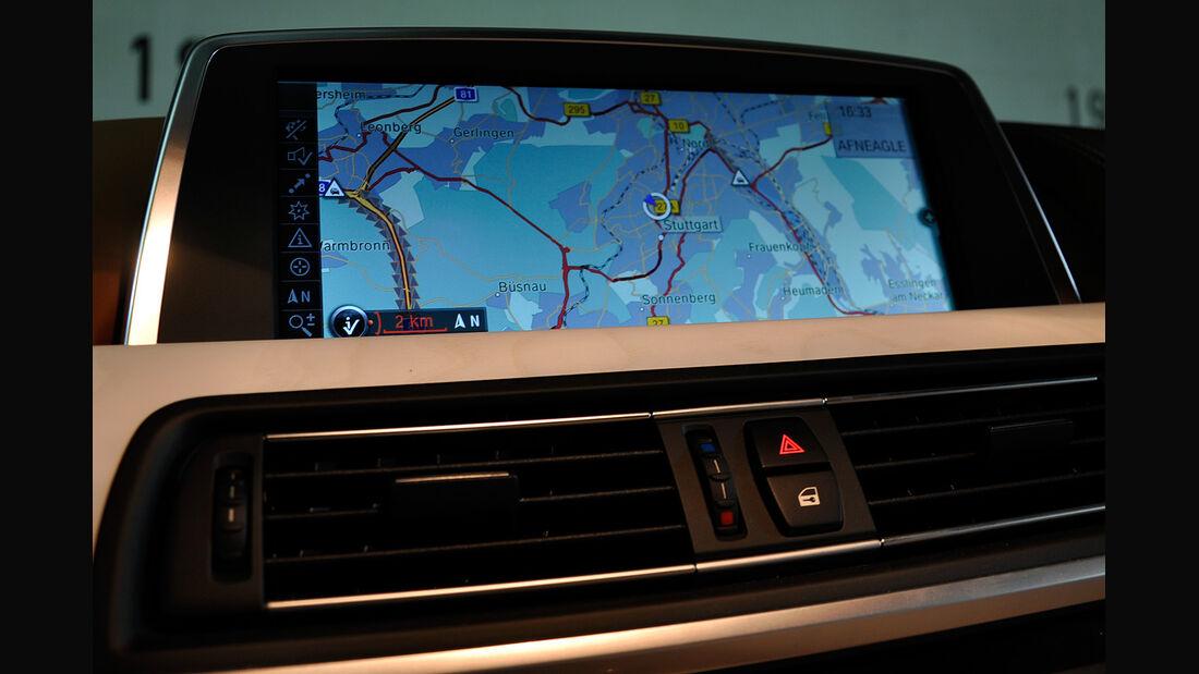 BMW 6er Gran Coupé, Innenraum-Check, Navigationssystem