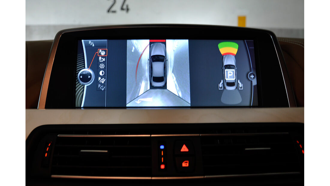 BMW 6er Gran Coupé, Innenraum-Check, Parkassistent