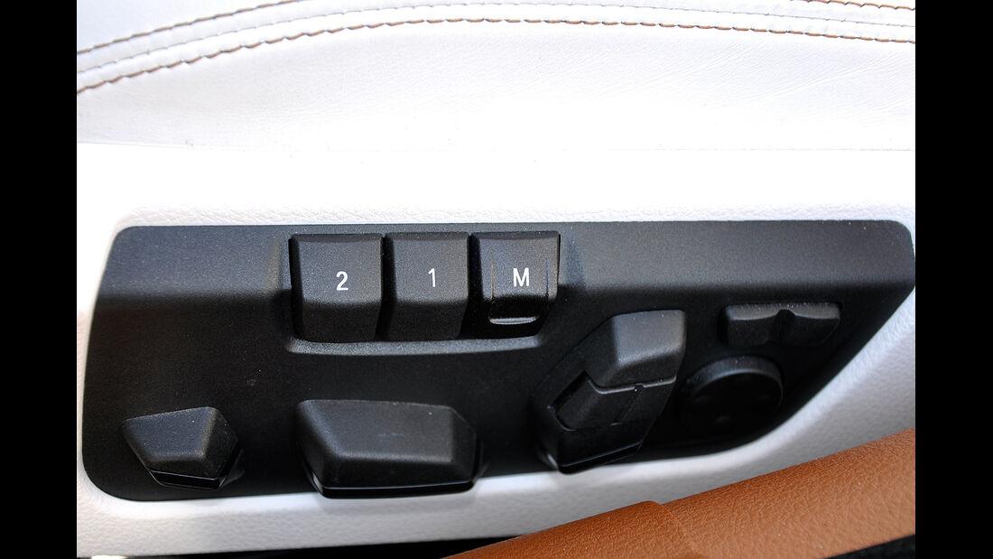 BMW 6er Gran Coupé, Innenraum-Check, Sitzeinstellung