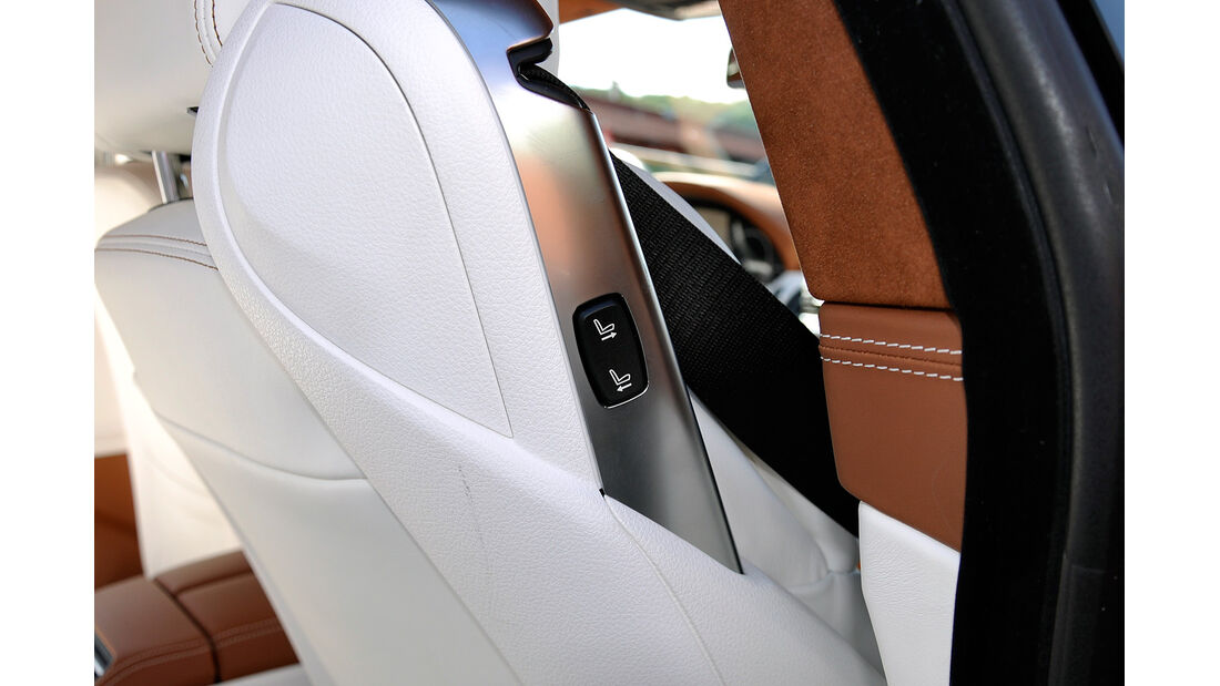 BMW 6er Gran Coupé, Innenraum-Check, Sitzverstellung