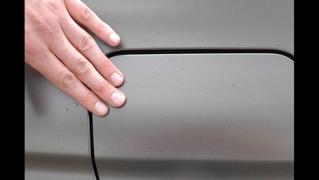 BMW 6er Gran Coupé, Innenraum-Check, Tankdeckel