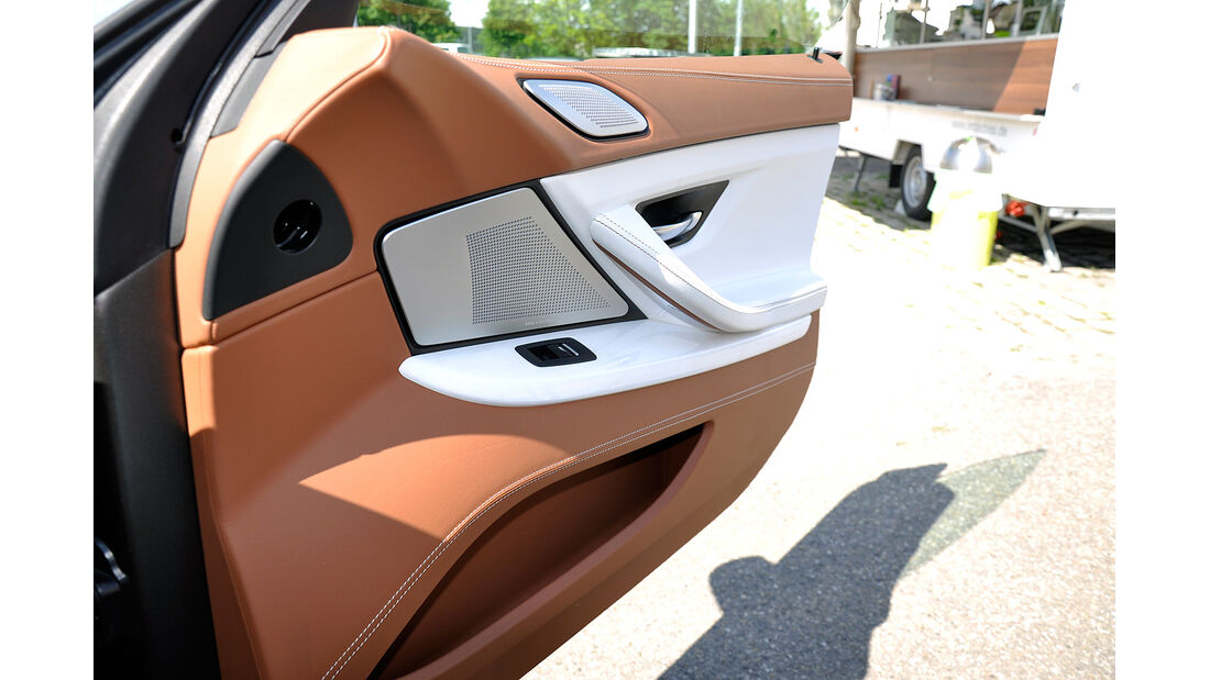 BMW 6er Gran Coupé, Innenraum-Check, Türverkleidung, Staufach