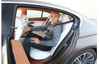 BMW 6er Gran Coupé, Rückbank, Rücksitz