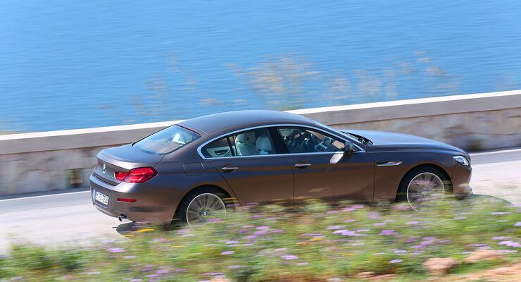 bmw 6er gran coupé fahrbericht: selbstfahrer-genießer-limousine