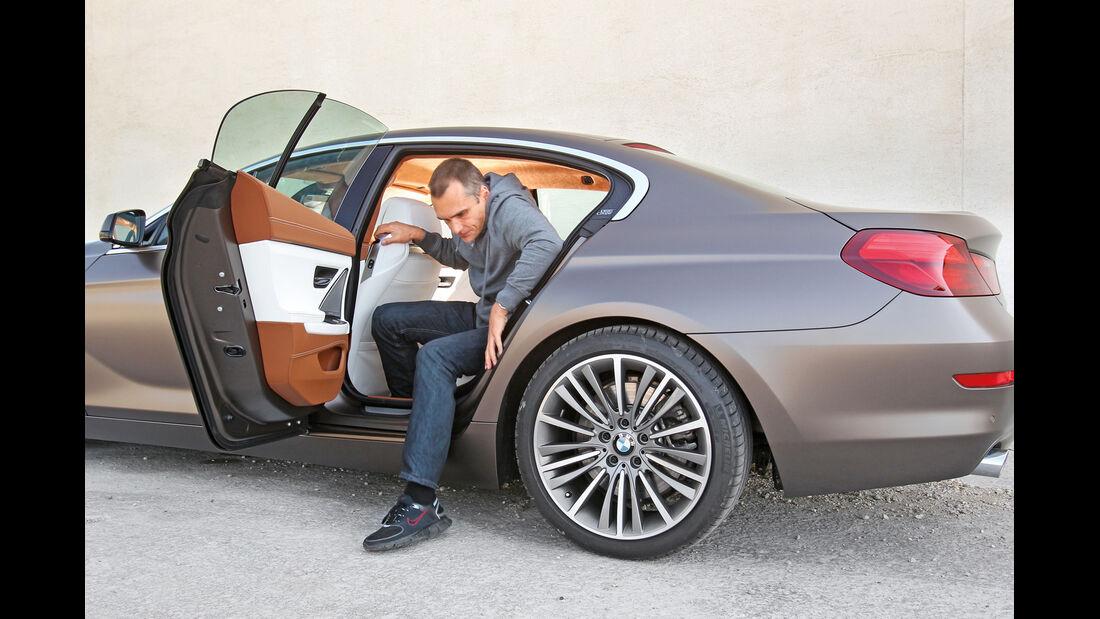 BMW 6er Gran Coupé, Seutentür, Aussteigen