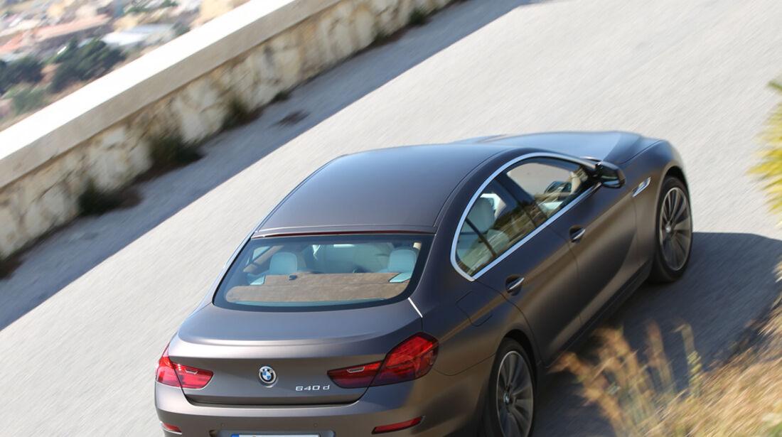 BMW 6er Gran Coupé, von oben