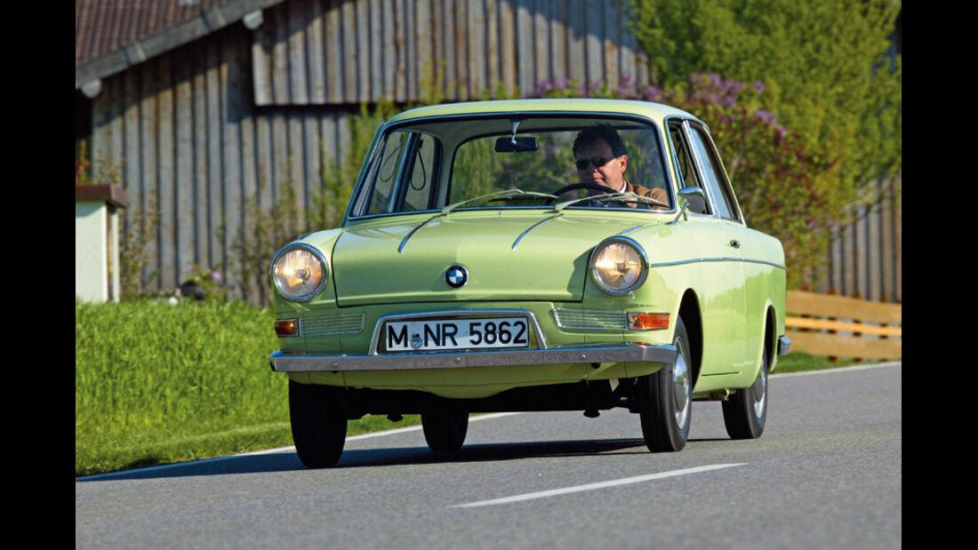 BMW 700 LS - Fahraufnahme
