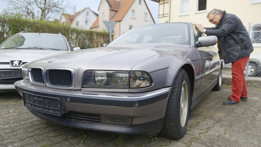 BMW 728i E38, Exterieur