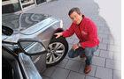 BMW 730d, Dirk Gulde, Vorderrad, Porträt
