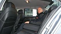 BMW 730d, Fond