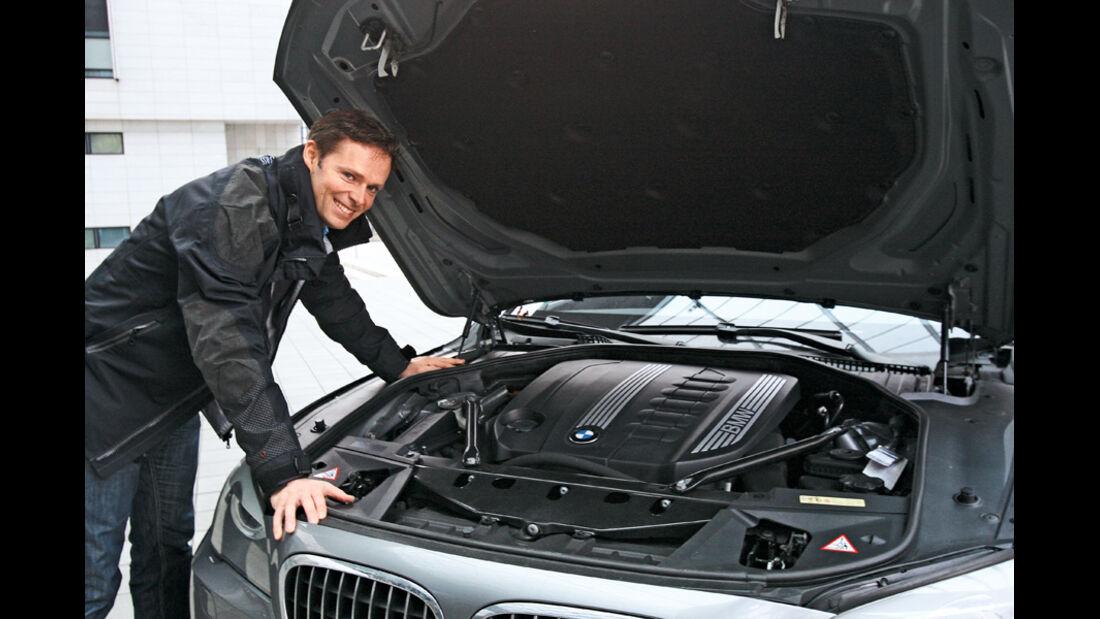 BMW 730d, Motor