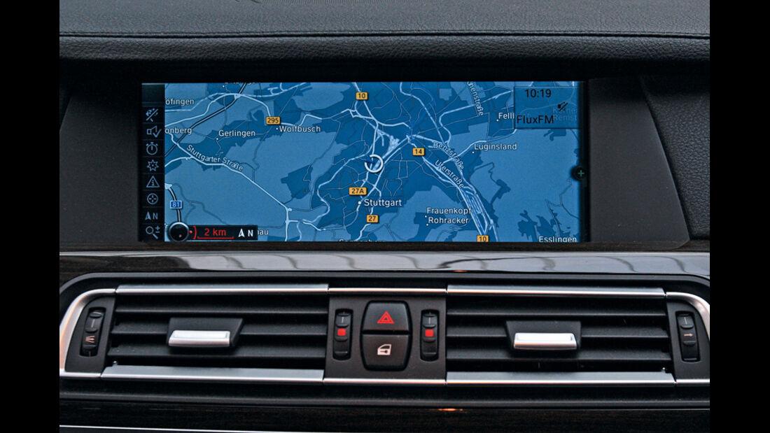 BMW 730d, Navi