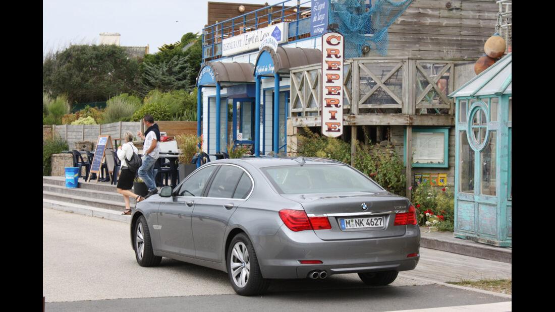 BMW 730d, Rückansicht, Heck