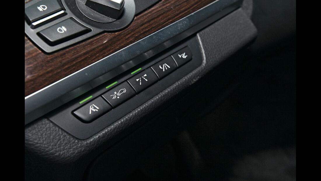 BMW 730d, Tasten