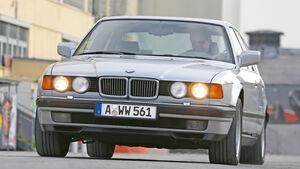 BMW 730i–750iL (E 32), V8/V12, Frontansicht