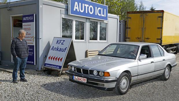 BMW 730i V8, Exterieur