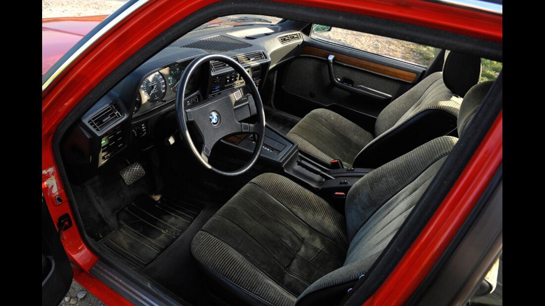 BMW 732i, Fahrersitz